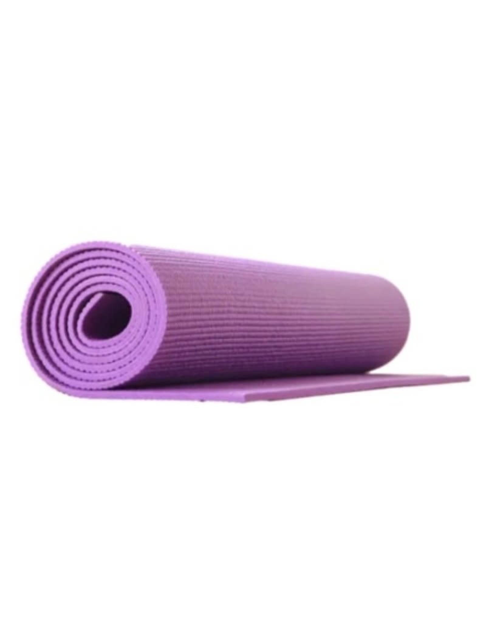 "Superior Stretch Non-Slip Yoga Mat 68""x24""x4""mm Purple"