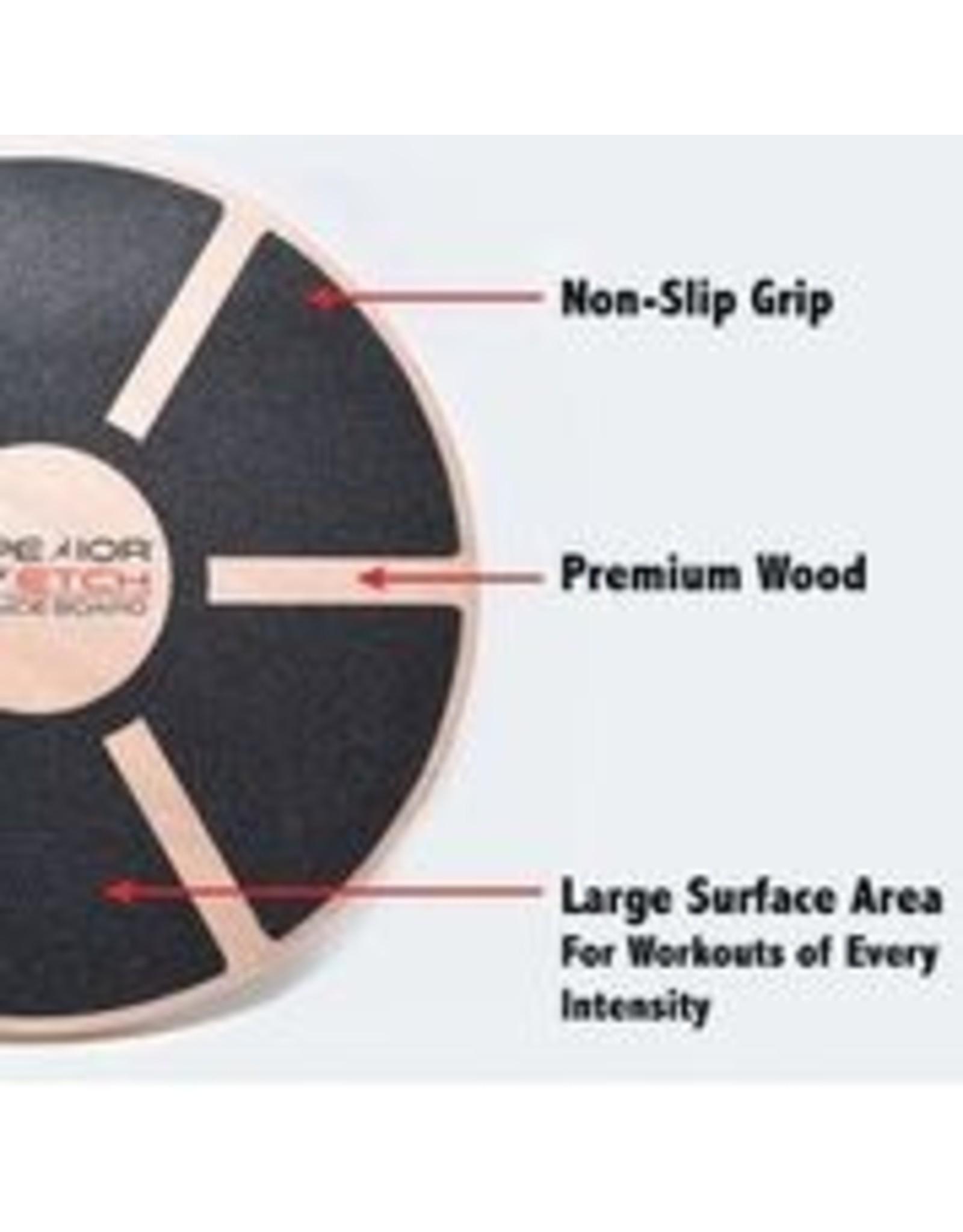 Superior Stretch Round Wood Balance Board