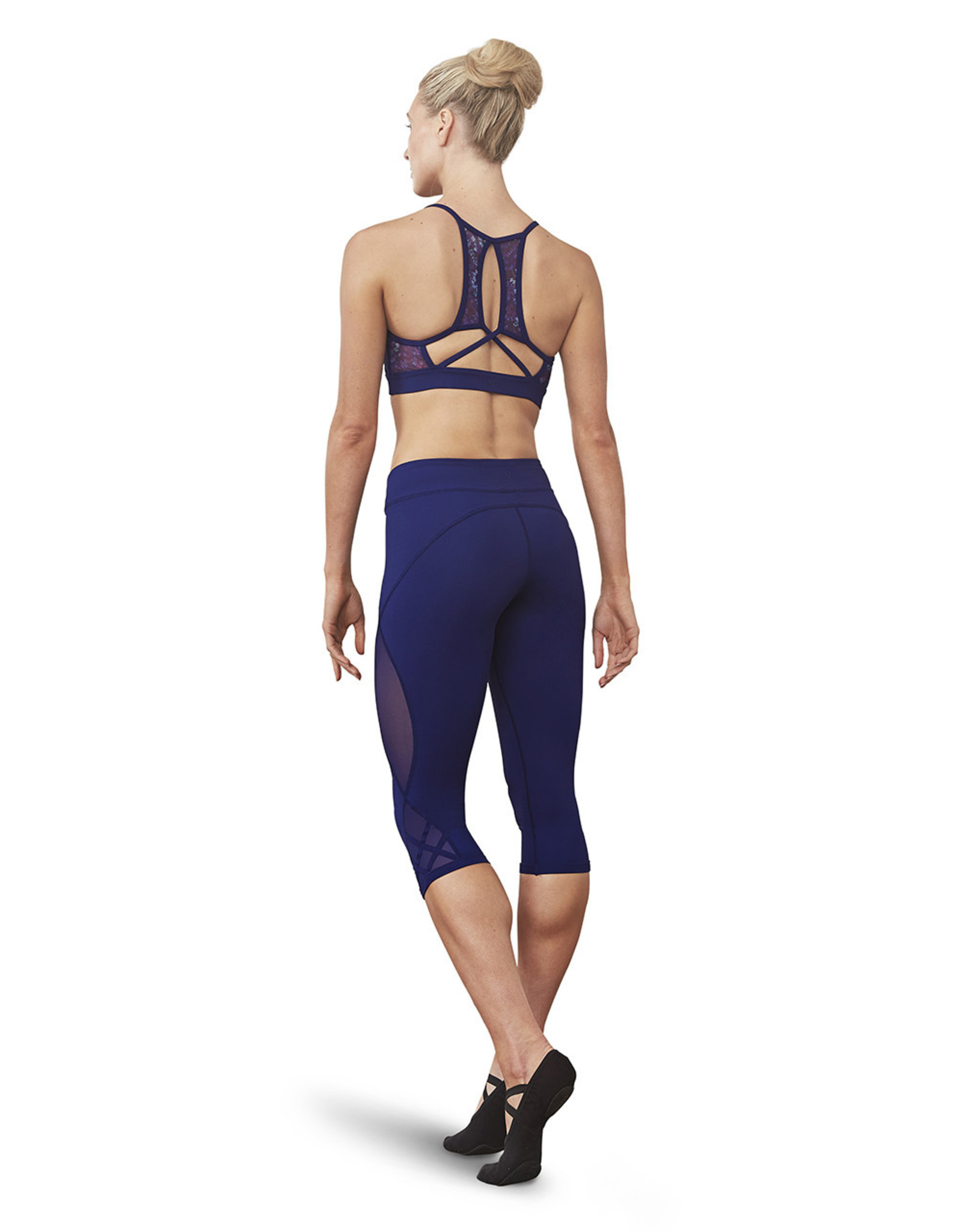 Bloch / Mirella X-back cami crop top (FT5145B)
