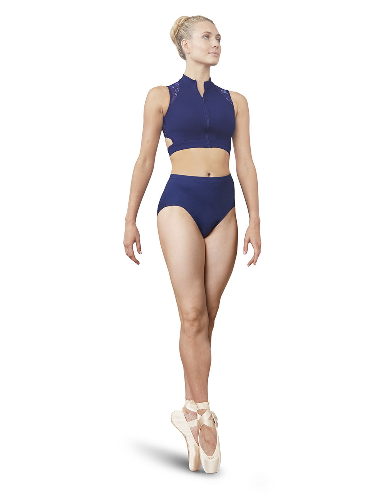 Bloch / Mirella High neck crop top (FT5141B)