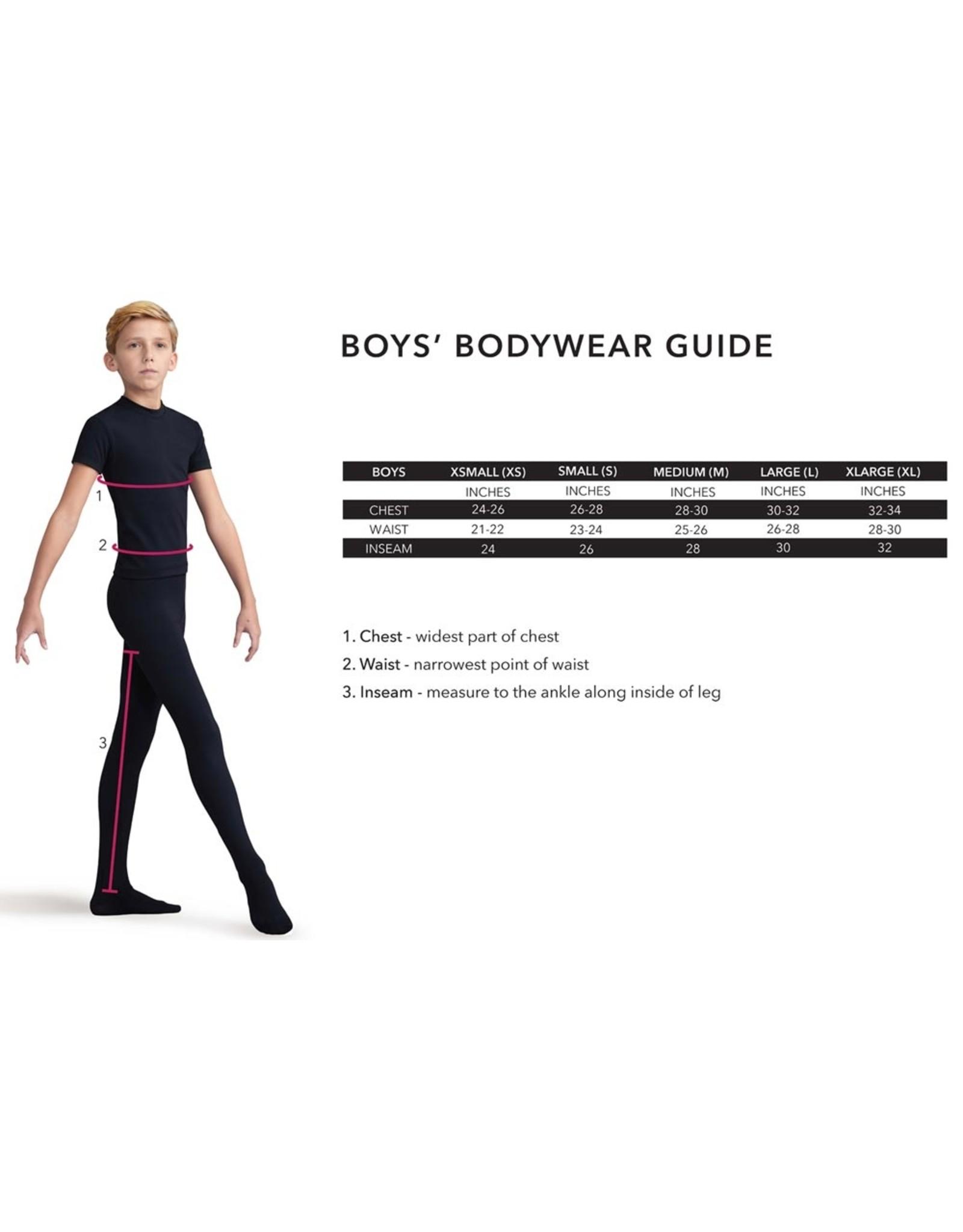 Capezio / Bunheads Boys Footed Tights (10361B)