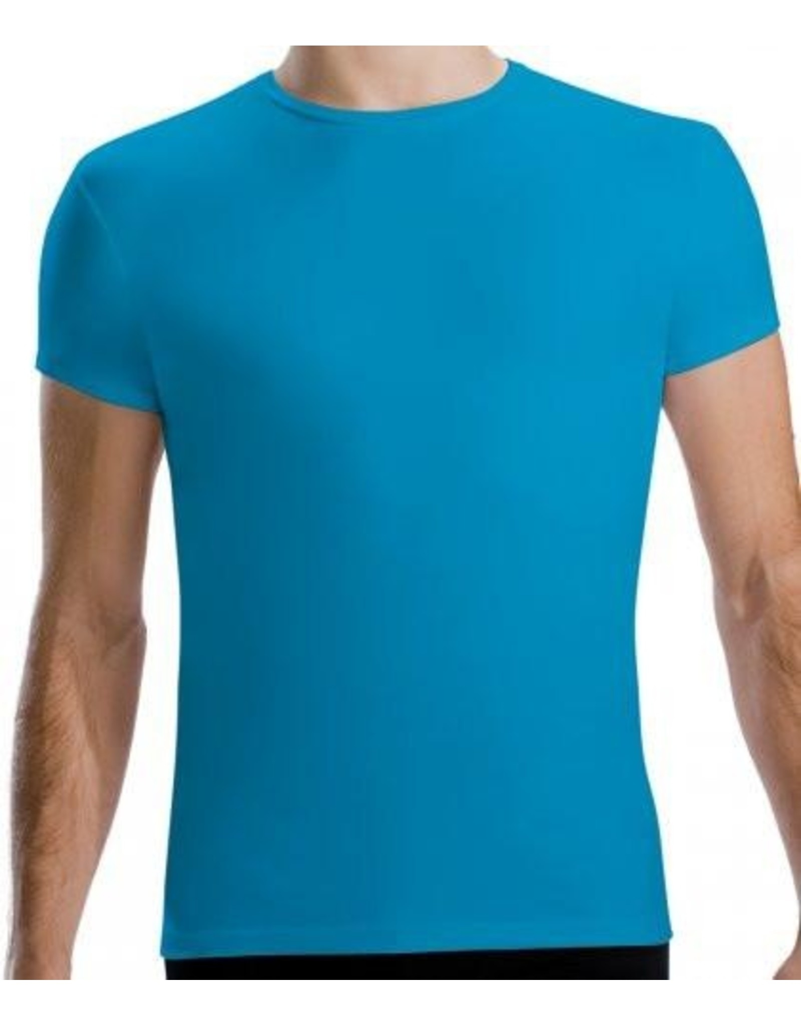 Motionwear Men's Cap Sleeve Fitted Top (MM7207)