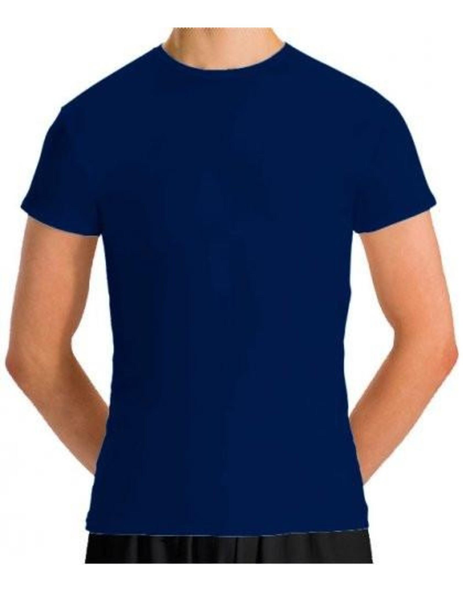 Motionwear Men's Cap Sleeve Fitted Top (MM7207)