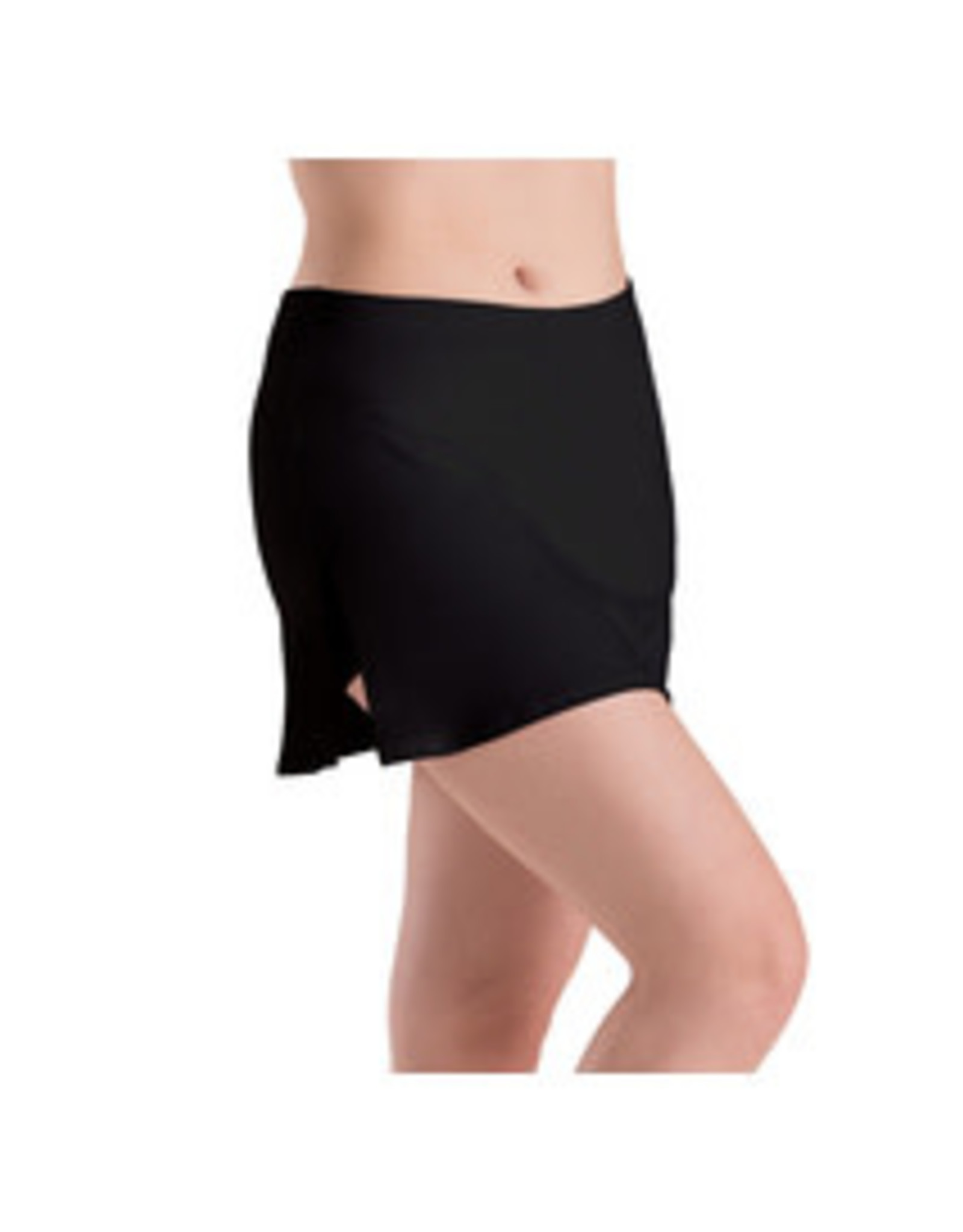 Motionwear Adult Side Slit Skirted Shorts (MM1035)