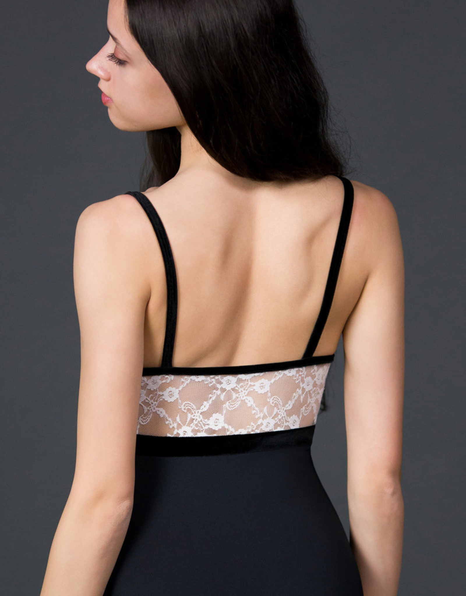 Suffolk Emp. Frnt/Back Lace Seamed Cami (2250A)