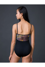 Suffolk Camisole With Mesh Overlay And Print Mesh Back (2223C)
