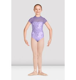 Bloch / Mirella High Neck Mesh Cap Sleeve (M1534C)