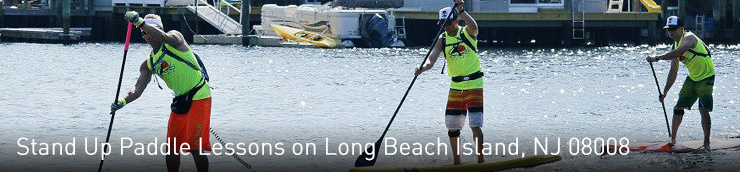 Stand Up Paddle Lessons on LBI, NJ 08008