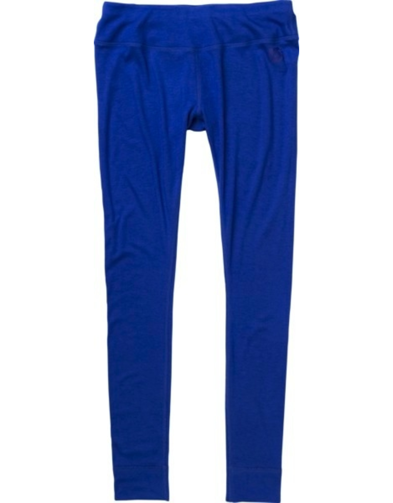 Burton Womens First Layer Luxury Midweight Pant, Medium, Deja Blue