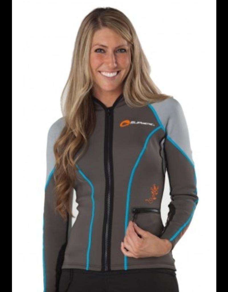 Supreme Women's Contour Jacket, Medium, Grey