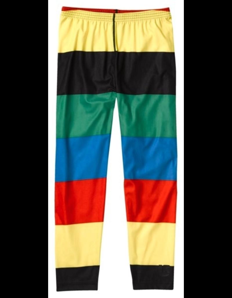 Burton Boys First Layer Explorer Pant, Small, Burner Pop Stripe