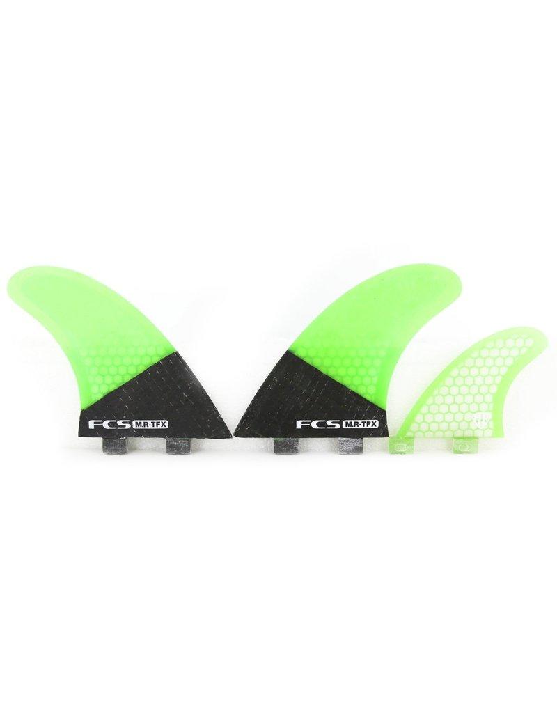FCS MR-TFX PC Carbon/Fluro Tri Fin Set