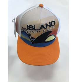 Island Surf & Sail ISS Custom Trucker Hat