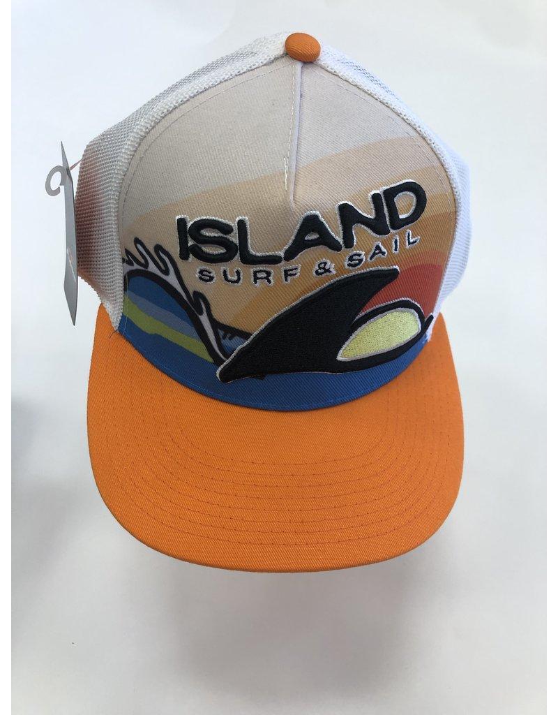 Island Surf & Sail ISS Custom Trucker Hat