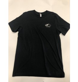 Chicks Clothing Island Surf and Sail NJ Tee Shirt Black XXXL
