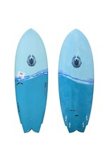 "Cannibal CoreVac Composites Surfboard 5'5"" Fishkit"