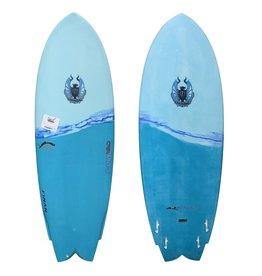 "Cannibal CoreVac Composites Surfboard 5'5"" Fishkit"