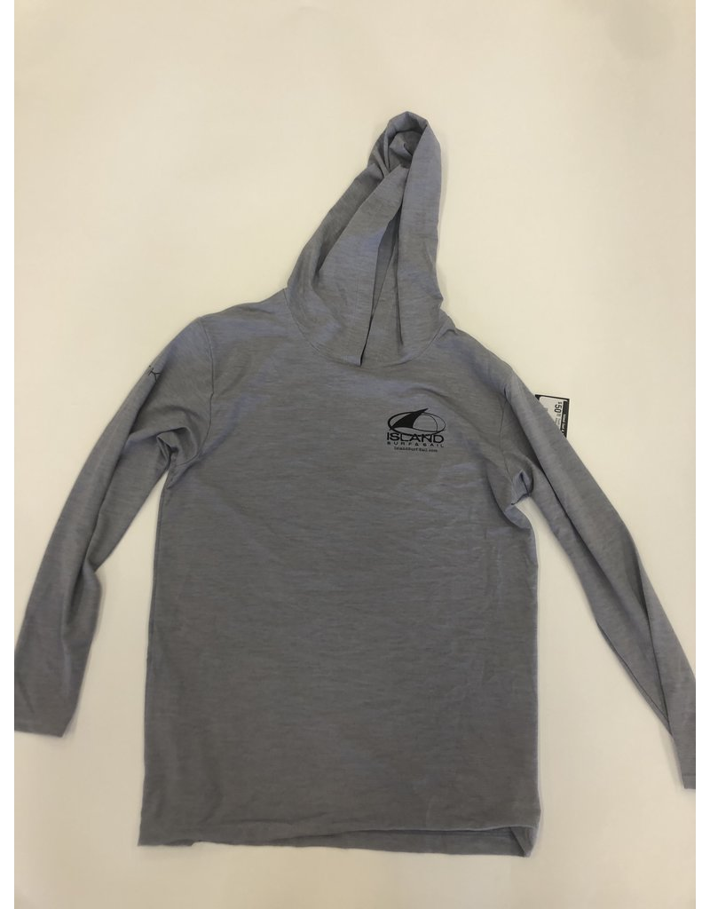 Island Surf & Sail Youth Low Pro Tech Hoody Alloy Heathered