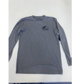 Anetik Low Pro Tech L/S Alloy Heathered mens
