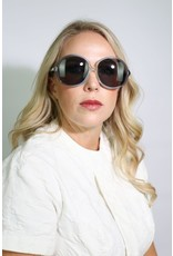 1960's Blue Over-Sized Sunglasses