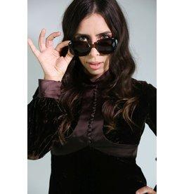 1970's Olive Green Christian Dior Sunglasses