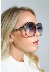 1970's Over-Sized Jackie O Tortes Sunglasses