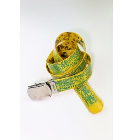 1980's Fiorucci Yellow Reversible Belt
