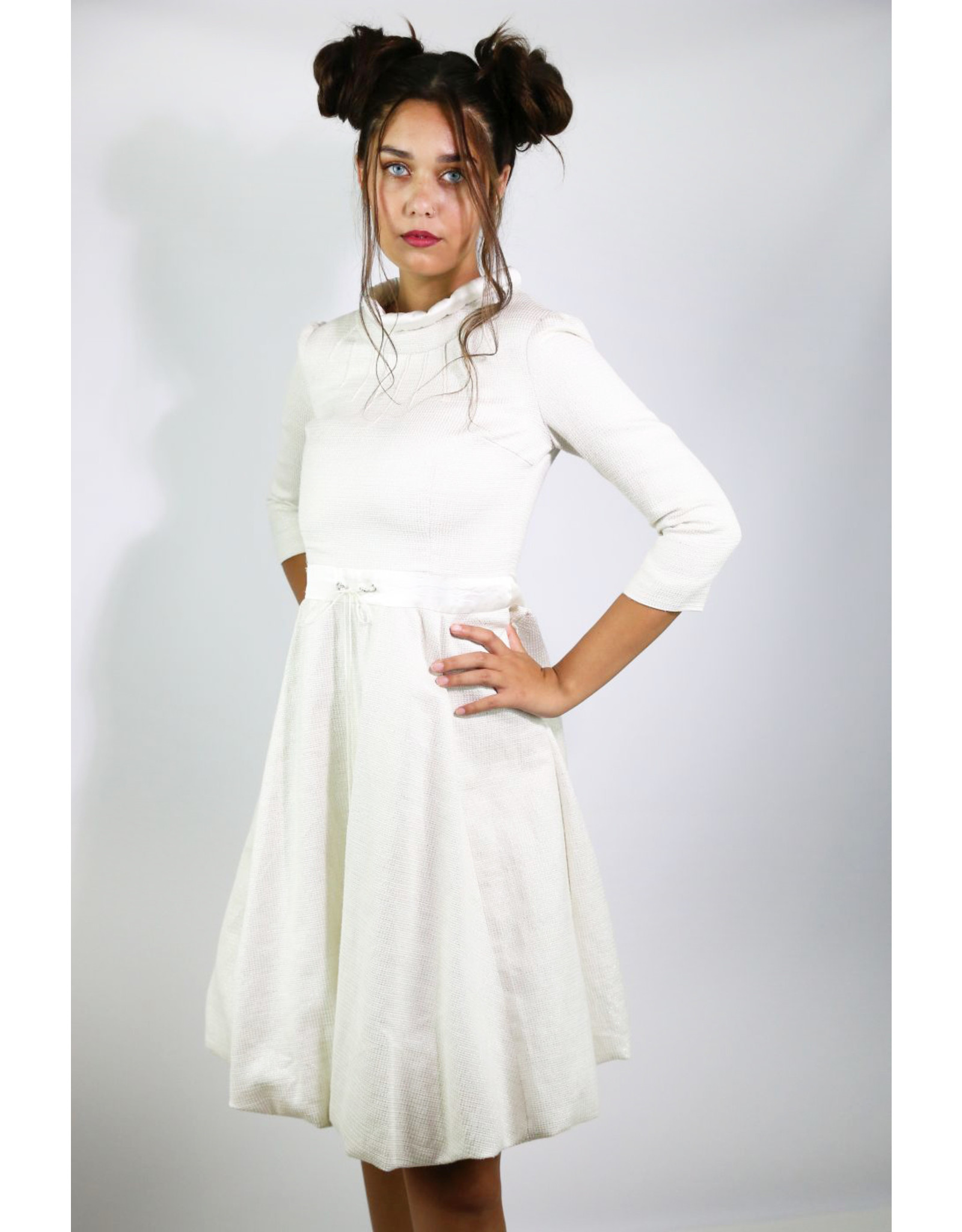 1960's White Astronaut Bubble Dress