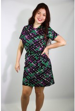 1960's Plus Size Mod Midi Dress