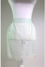 1950's Baby Blue Lace Apron