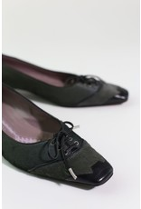 1970's  Pony Hair Anya Hindmarch Oxford Pumps