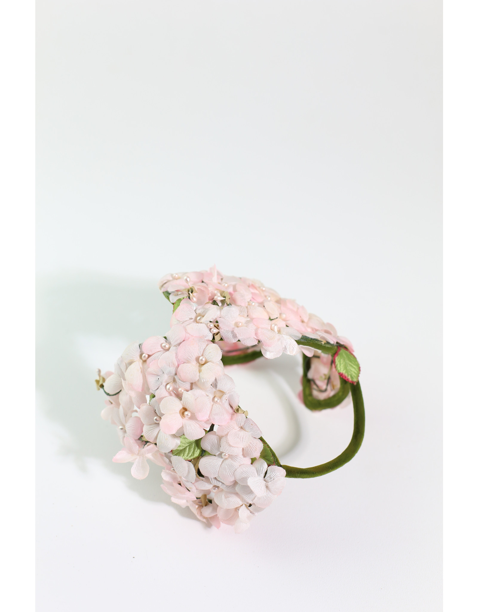 1950's Flowered Cage Hat