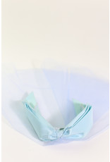 1950's Blue Bow Headband