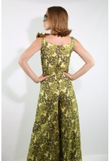 1970's Green/Gold & Black Jumpsuit