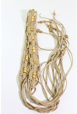 1970's Tan Knotted Boho Belt