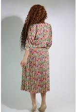 1980's Breli Originals Print Dress
