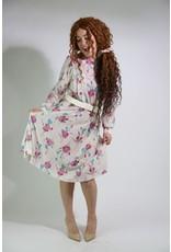 1980's HHR Floral Dress
