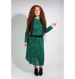 1980's Sunshine Alley Green Dress