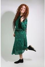 1980's Sunshine Alley Green Dress