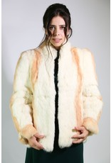 1980's  Rabbit Fur Coat
