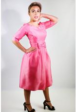 1960's Jackie Kennedy Pink Tulip Dress