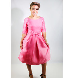 1960's Jackie Kennedy Pink Tulip Dress