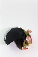 1940's Floral Fascinator Hat