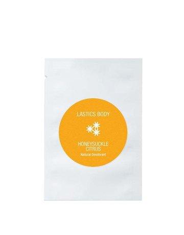 Lastics Single Deoderants - Honeysuckle Citrus - 10 Pack