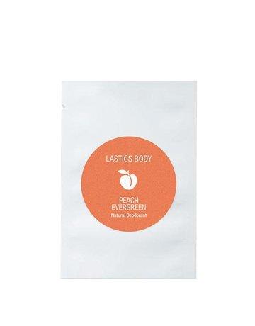 Lastics Single Deoderants - Peach Evergreen - 10 Pack