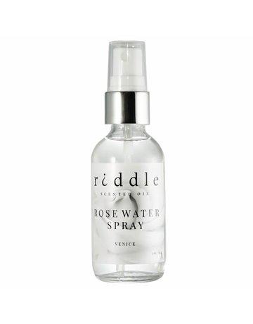 Riddle Oil Rose Water Toner Spray - 2 oz.