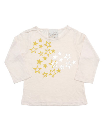 SHirin NYC Long Sleeve Tee - Foil Stars Print