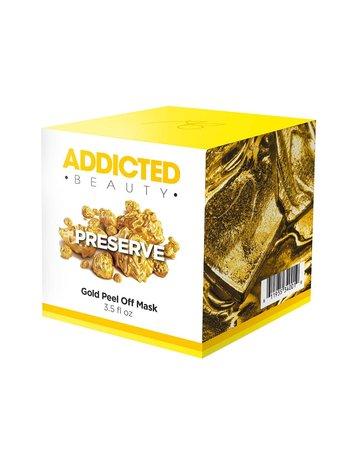 Addicted Beauty Gold Peel Off Mask - 3.5 oz