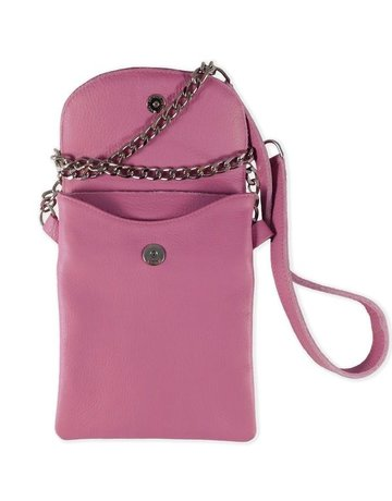 14th Rose Leather Cell Phone Purse