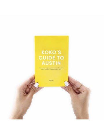 A Taste of KoKo Austin Guide Book